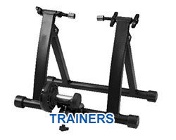 All trainers on Solomons Cycles